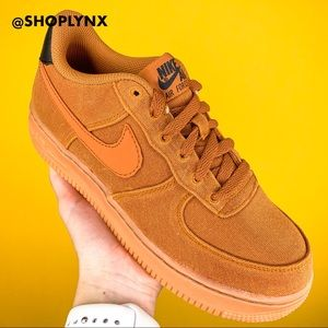 Nike Air Force 1 LV8 Special Edition Camel Sneaker